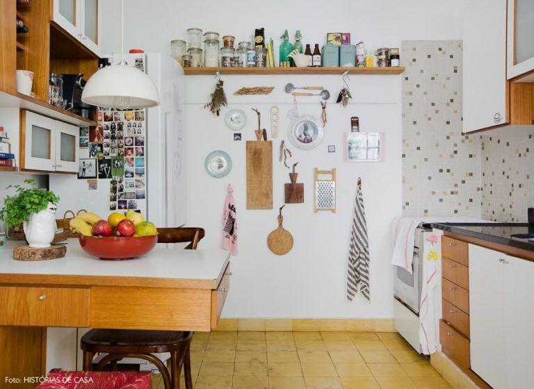 Projeto de cozinha com design afetivo.