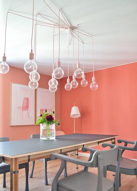 Sala de jantar coral