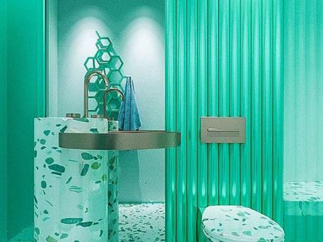 Design futurista: profusão de cores!