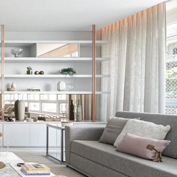 Apartamento living Higienópolis