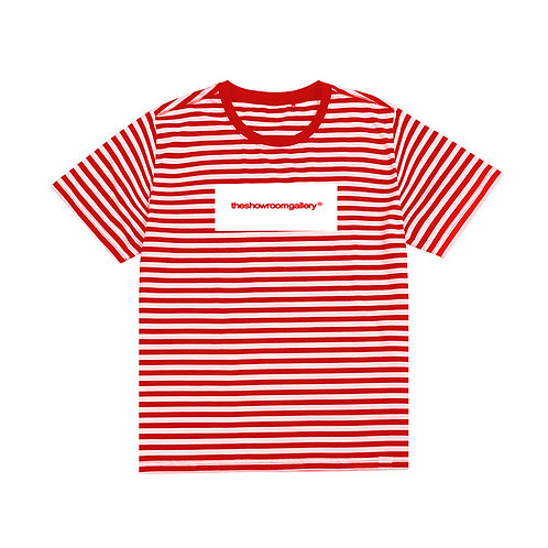 theshowroomgallery® Stripe T-Shirt (RED)