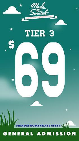 GA Pass Tier 3 (T3)