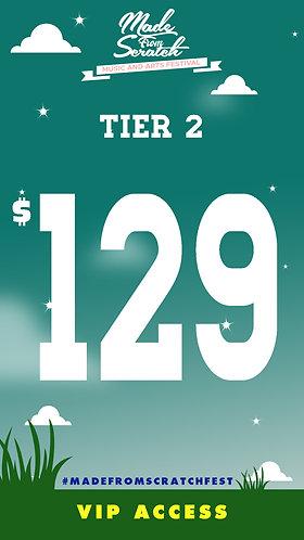VIP  Pass Teir 2 (T2)