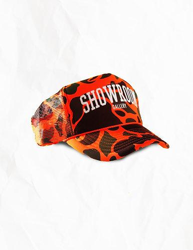 Neon Camo Trucker Hat
