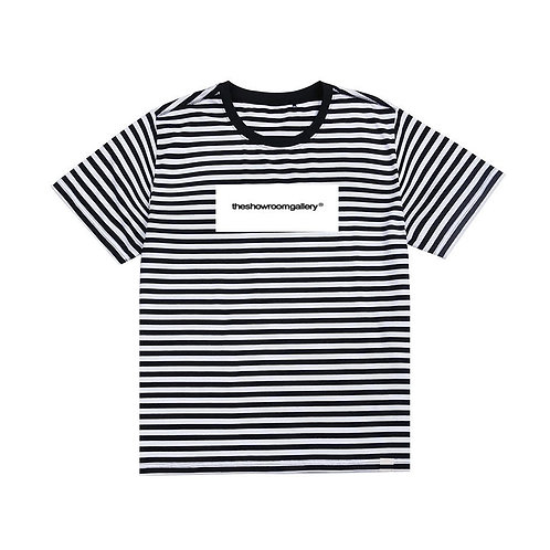 theshowroomgallery® Stripe T-Shirt (BLK)