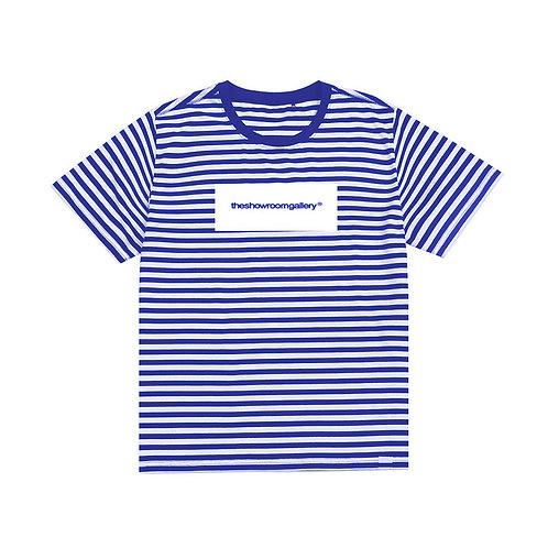 theshowroomgallery® Stripe T-Shirt (BLU)