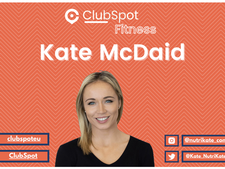 Clubspot Fitness with Kate McDaid