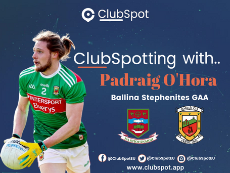 ClubSpotting with Padraig O'Hora