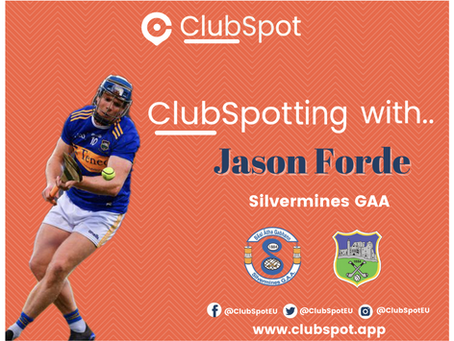 ClubSpotting with Jason Forde