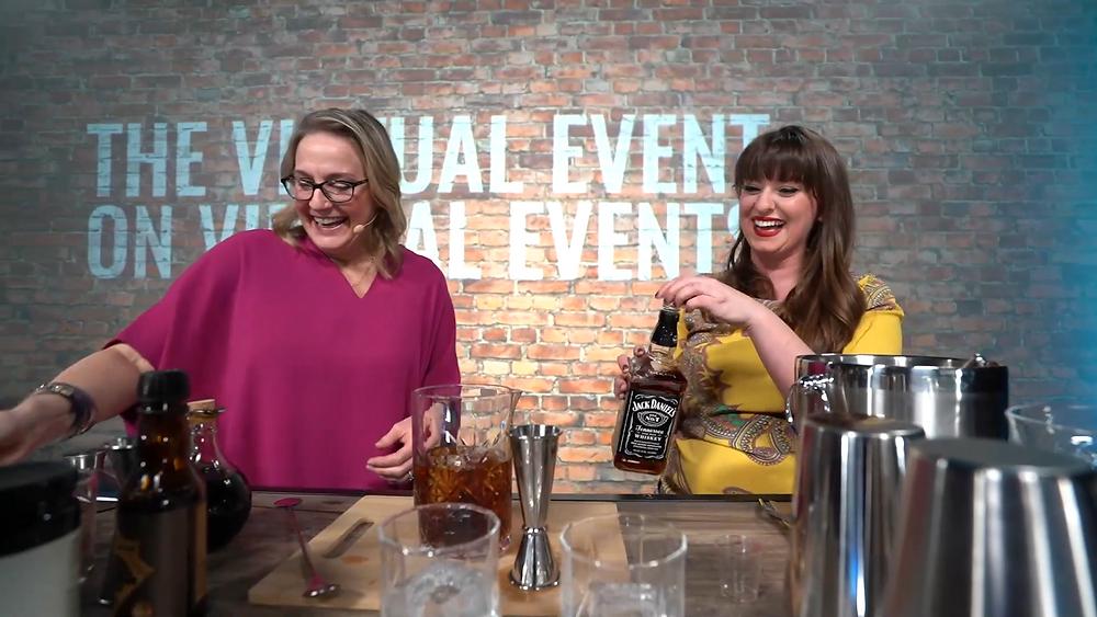 virtual events event enrollment coaching cocktail class