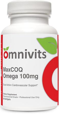 MaxCOQ Omega 100mg , By Omnivits.jpg