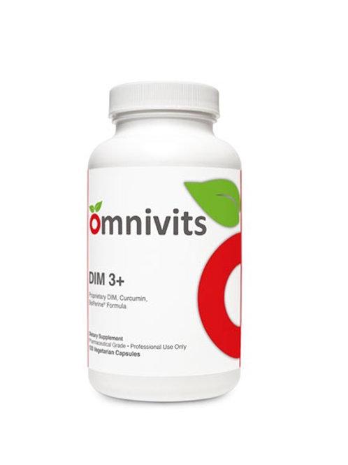DIM 3+     Proprietary DIM, Curcumin, BioPerine® Formula