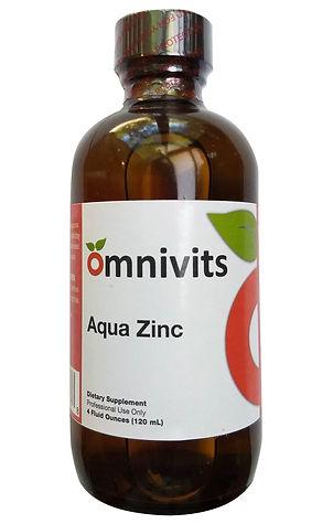 Aqua Zinc | Testing & Maintaining Zinc Levels | Omnivits