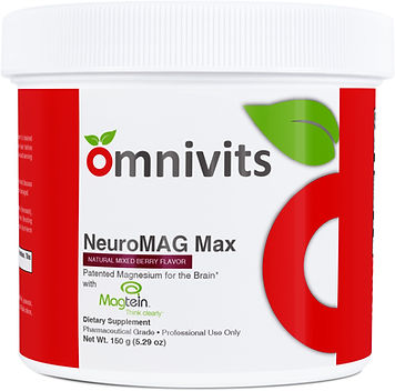 NeuroMAG Max | Optimizes Magnesium Delivery to Body & Brain | Omnivits