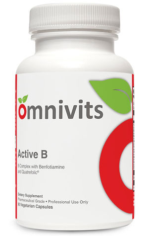 Active B | Entire Spectrum of B Vitamins | Omnivits
