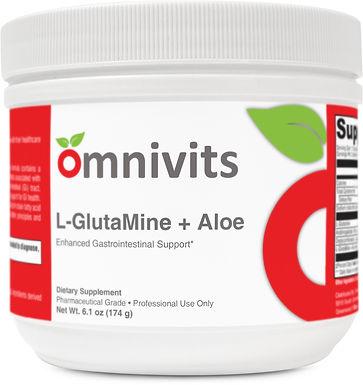 L-GlutMine +Aloe| Omnivits