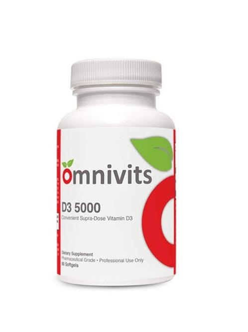 D3 -5000 Convenient Supra-Dose Vitamin