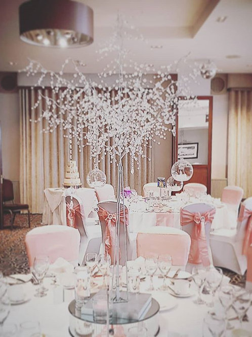 Crystal tree Centrepiece