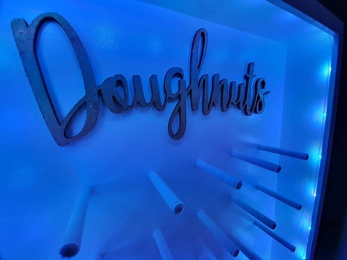 LED colour changing doughnut wall unfilled
