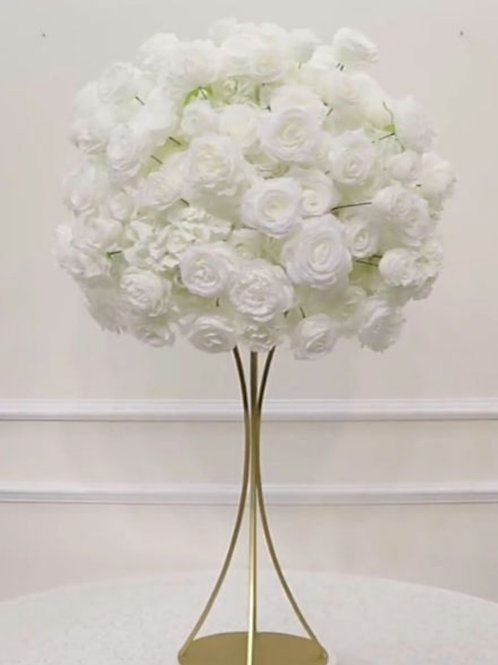 Bella ivory flower ball 50cm