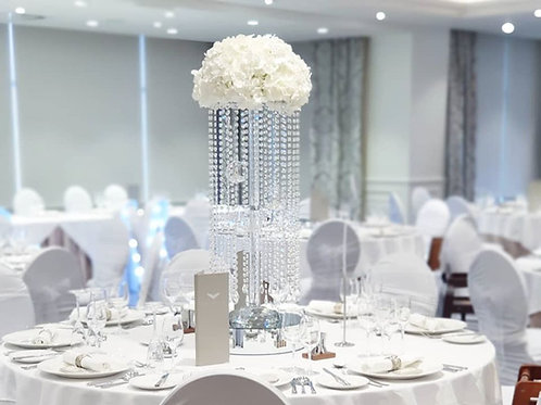 Glass Stem Crystal Chandeliers