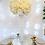 Thumbnail: Classic white 30cm flower ball