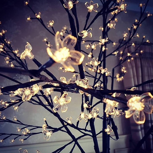 Warm white LED trees