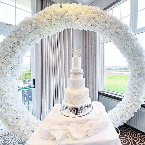 Mirror cake stand 40cm x 10cm