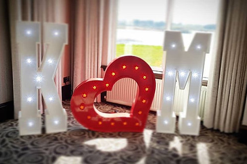 4ft individual letters