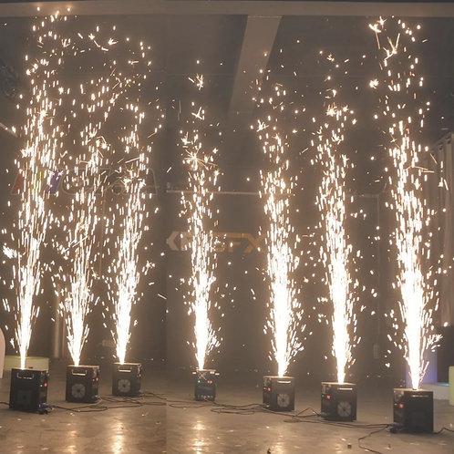 Cold spark fireworks