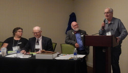Past President and Past Editor Ed Carter addressing the Delegates.JPG