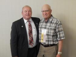 NRLCA Executive Committeeman Steve Traylor and 50 year Member John Moore.jpg