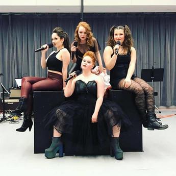 Cast of Lizzie: A Femme Rock Musical
