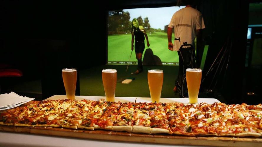 Virtual Golf Lounge