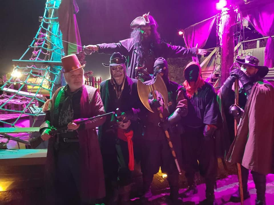 The Black Widow Pirate Ship