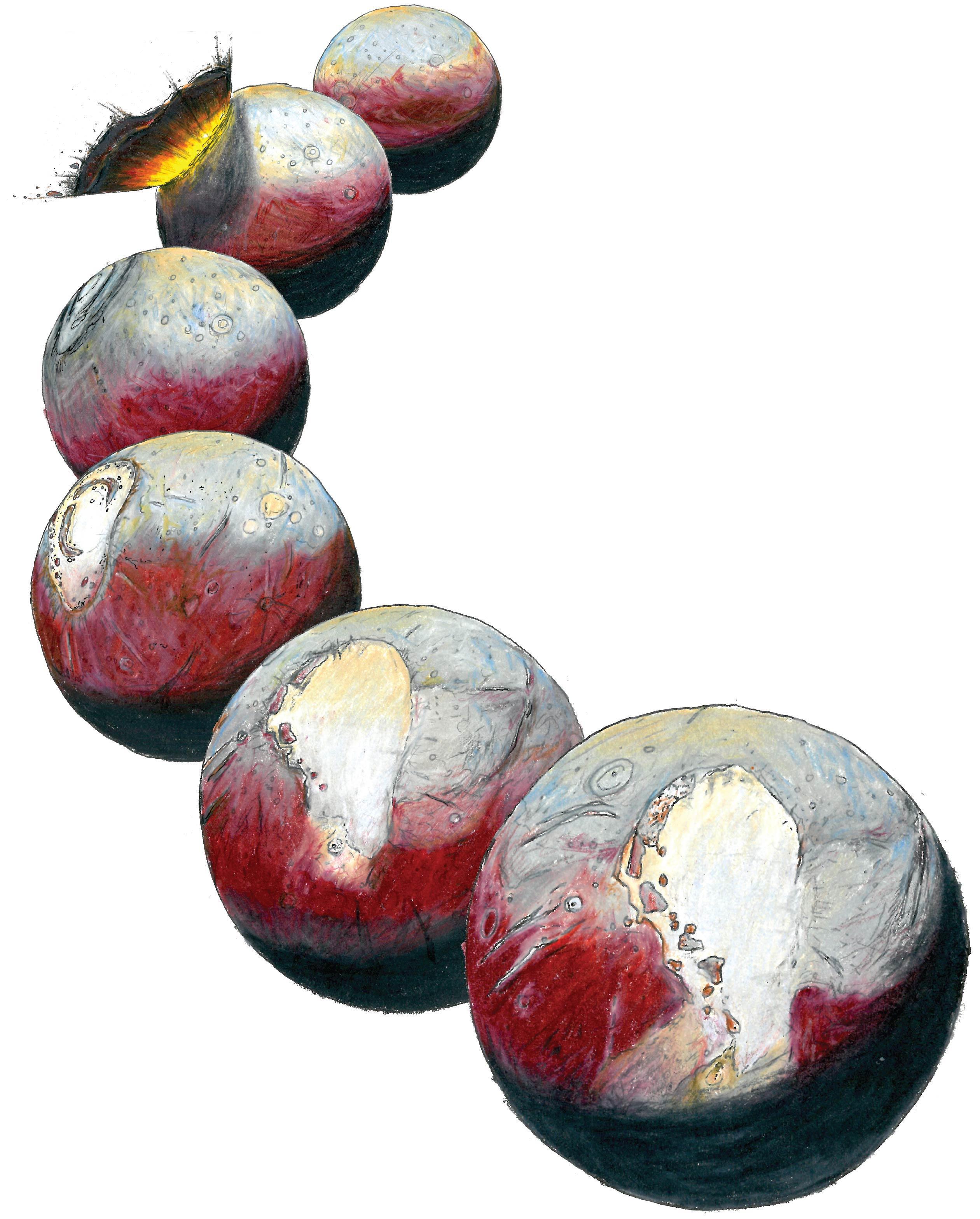 Reorienting Pluto
