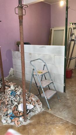 Demolizioni e nuove pareti
