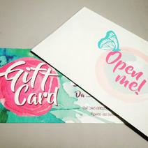 Progettazione e stampa gift card