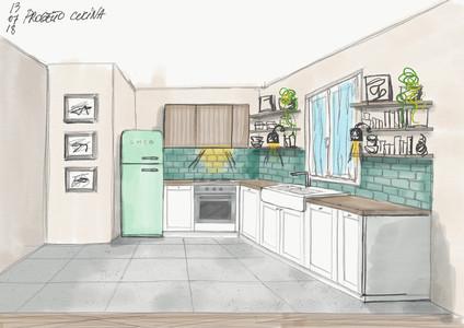 Progetto arredo nuova cucina