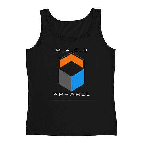 M.A.C.J Apparel Ladies' Tank (Black)