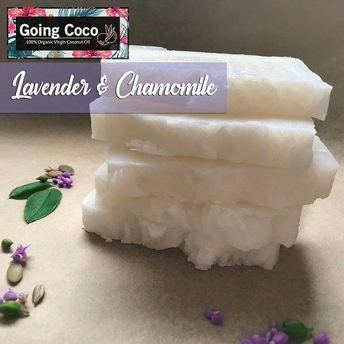 Lavender & Chamomile Organic Shampoo Bar