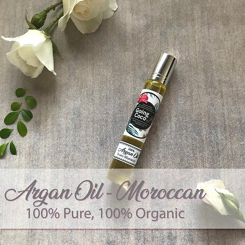 Organic Moroccan Argan Oil, Pure & Organic - Silky, smooth hair