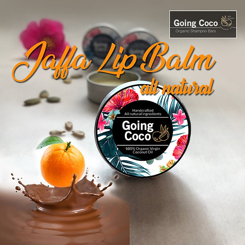 Jaffa Choc Orange Organic Lip Balm