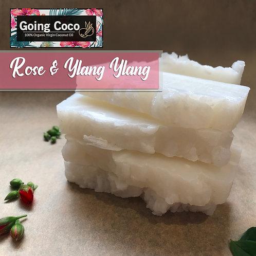 Rose & Ylang Ylang Organic Shampoo Bar