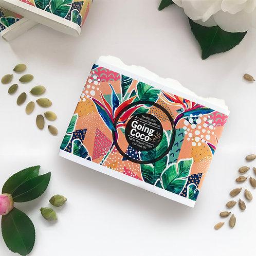 Mango Tango Organic Coconut oil Shampoo Bar