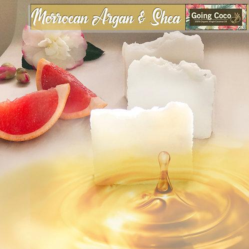 Moroccan Argan Oil & Shea Organic Shampoo Bar