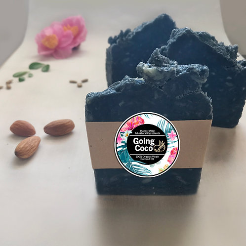 ACTIVATED CHARCOAL EBONY BAR with Organic Coconut Oil