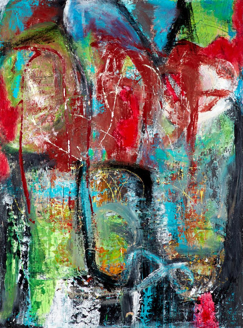Reverse Paris Painting