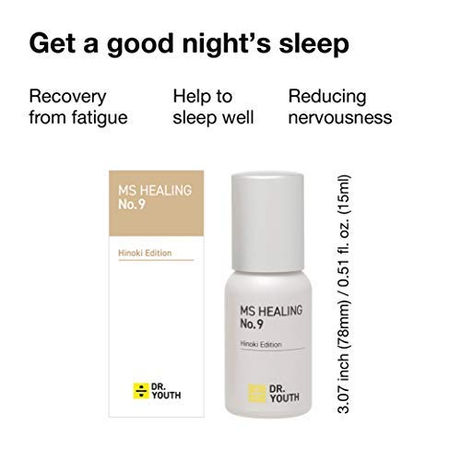 Good sleep with Dr.YOUTH Aroma No.9