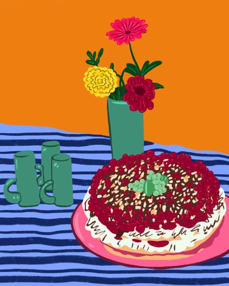 Cake Still Life
